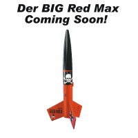 Der Big Red Max Model Rocket Kit  - Estes 9721