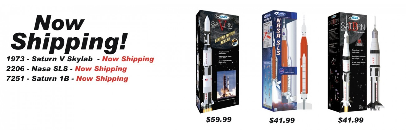 Now Shipping | Saturn 1B | Saturn V - Starlab