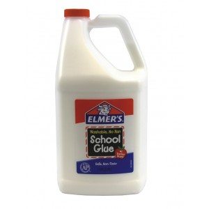 Elmers Washable School Glue Gallon - Bor340