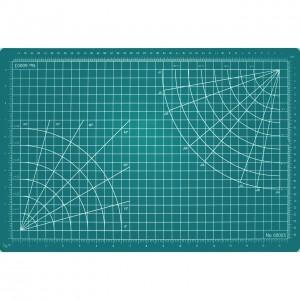 """Excel Cutting Mat - 12"""" x 18"""" Green  - EX60003"""