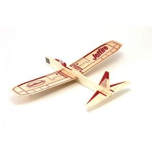 Jetfire Balsa Glider - 1 Box of 48 - Guillows 30