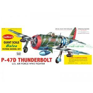 P-47D Thunderbolt - Guillows 1001