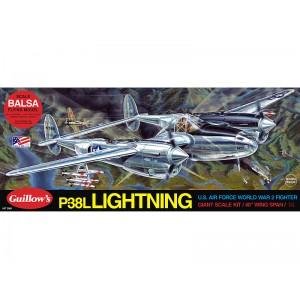 P38 Lightning - Guillows 2001