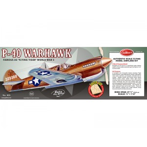 P-40 Warhawk - Guillows 405