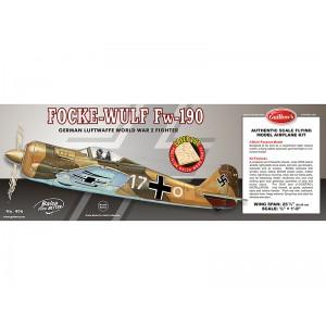 Focke-Wulfe Fw-190 - Guillows 406