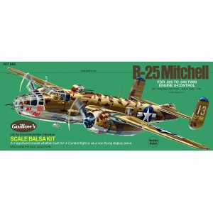 N. A. B-25 Mitchell - Guillows 805