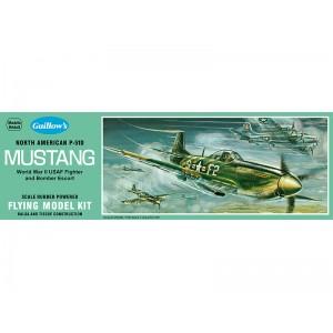 N. American P-51 Mustang - Guillows 905