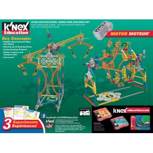 K'NEX Education Stem Explorations: Swing Ride Building Set - KNX77077
