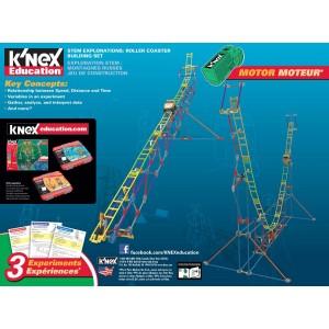 K'NEX Education Stem Explorations: Roller Coaster Building Set - 77078