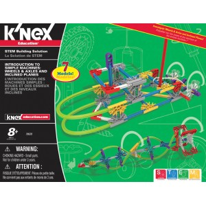 K'NEX Intro to Simple Machines: Wheels, Axles and Inclined Planes -  KNX 78620