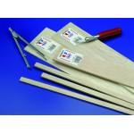 "1/16"" x 1/16""  -   Balsa Strips -  36"" length - pkg (60) - Mid6022"