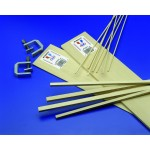 "1/4"" x 3/8"" Basswood Strips 24"" Length - pkg (16) - Mid4068"
