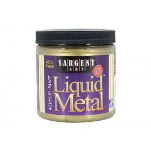 Liquid Metal, Antique Gold, 8oz Acrylic Paint  - Sargent Art 1175
