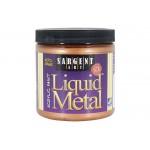 Liquid Metal, Bronze, 8oz Acrylic Paint  - Sargent Art 1195