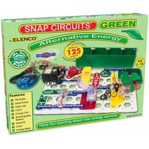Elenco _ Snap Circuits Green Alternative Energy SCG-125  - Elenco SCG125