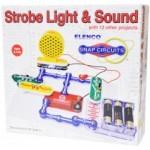 Elenco _ Strobe Light & Sound Kit  - Elenco SCP14