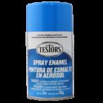 Testors Enamel Spray 3oz  Light Blue - Tes1208