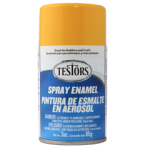 Testors Enamel Spray 3oz  Gloss Yellow - Tes1214