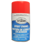 Testors Enamel Spray 3oz  Bright Red- Tes1231
