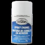 Testors Enamel Spray 3oz  Gloss White- Tes1245