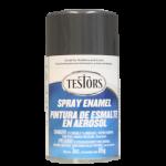 Testors Enamel Spray 3oz  Gray Metallic - Tes1253