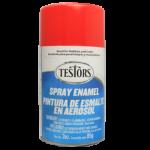 Testors Enamel Spray 3oz  Gloss Red- Tes1203