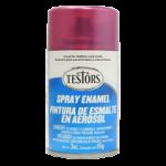 Testors Enamel Spray 3oz  Custom Purple Metal Flake - Tes1631