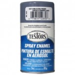 Testors Enamel Spray 3oz  Gray Primer - TES1237