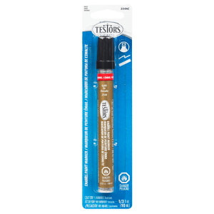 Testors Enamel Paint Marker, Metallic Gold  - Testors 2544C