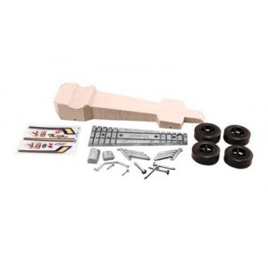 Pinecar Sling Dragster  Deluxe Pinewood Derby Kit - WOO376