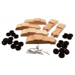 Pinecar Bandit Coupe Pinewood Derby Kit 6 Pack- WOO4055