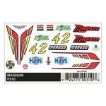 Pinecar Magnum Dry Transfer Decals - WOO310