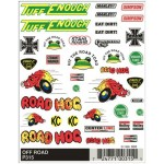 Pinecar Off Road Dry Transfer Decals - WOO315