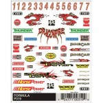 Pinecar Formula Dry Transfer Decals - WOO319