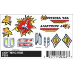 Pinecar Lightning Rod Decals - WOO326