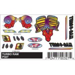 Pinecar Turbo Ram Decals - WOO327