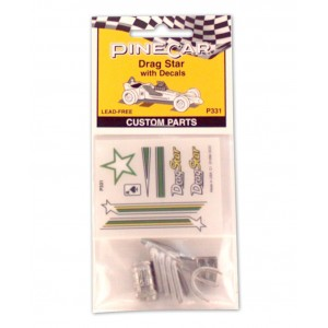 Pinecar Drag Star Body Accessories - WOO331