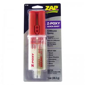 Zap 1oz 5 min epoxy   -  Zap PT-36