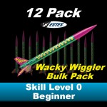 Wacky Wiggler Model Rocket Kit (12 pk)  - Estes 1701
