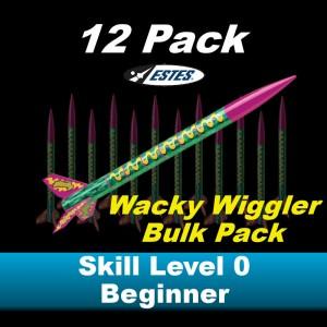 Wacky Wiggler Model Rocket Kit (12 pk)  - Estes 1701