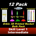 Orbis Model Rocket Kit      (12 pk)  - Estes 1706