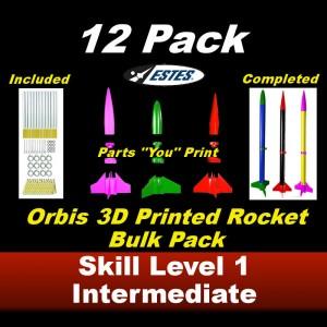Orbis Model Rocket Kit      (12 pk)  - Estes 1706