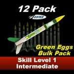 Green Eggs Rocket Kit (12 pk)  - Estes 1718