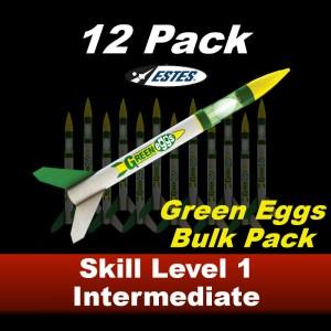 Green Eggs Rocket Kit (12 pk)  - Estes 1718