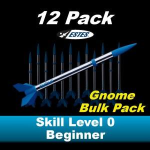 Gnome Model Rocket Kit (12 pk)  - Estes 1749