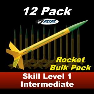 Viking Model Rocket Kit (12 pk)  - Estes 1755