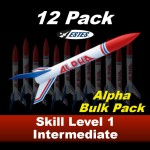 Alpha Model Rocket Kit (12 pk)  - Estes 1756