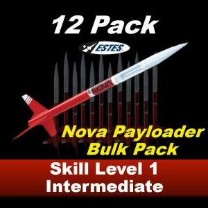 Nova Payloader Model Rocket Kit (12 pk)  - Estes 1757