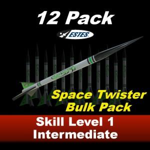 Space Twister Rocket Kit (12 pk)  - Estes 1758