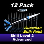 Guardian Model Rocket Kit (12 pk)  - Estes 1779